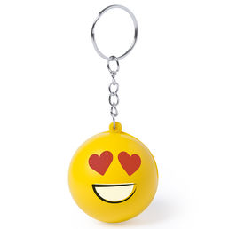 Antistressnyckelring Smiley