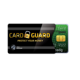Cardguard RFID-skydd i papper
