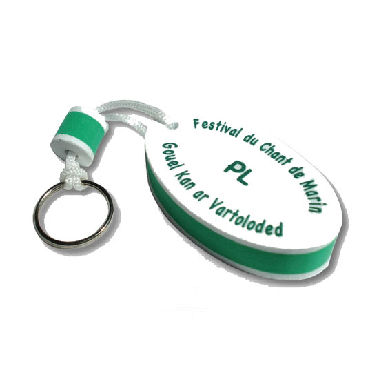 Nyckelring i egen design EVA-skum - Profilprodukter för alla företag ... 9b845ec5c1d77
