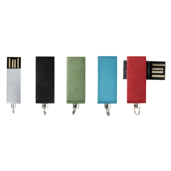 Mini USB-minnemed tryck