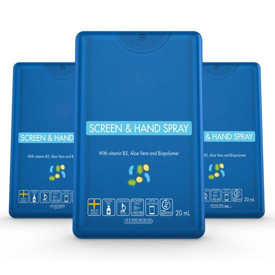 Antibakteriell handspritsspray i kortformat