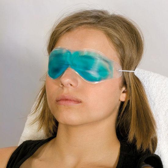 ögonmask med gel