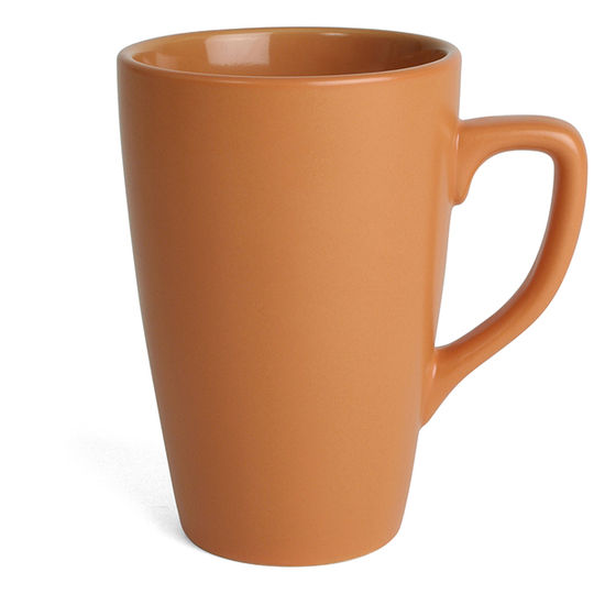 Orange Kaffemugg Apollo Color, 30 clmed tryck