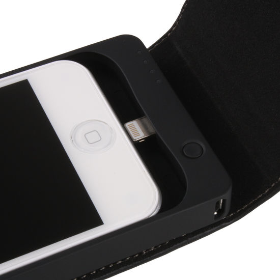 Power Pack Case iPhone 5med tryck